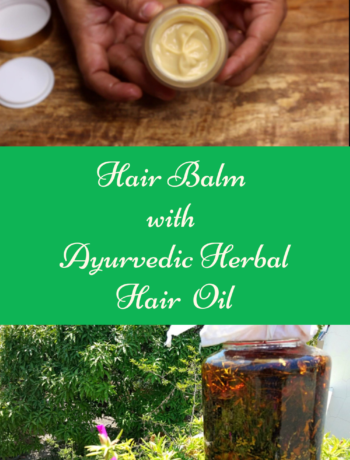 how to make hair balm